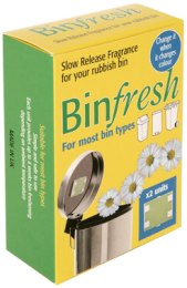 BinFresh air freshener pack